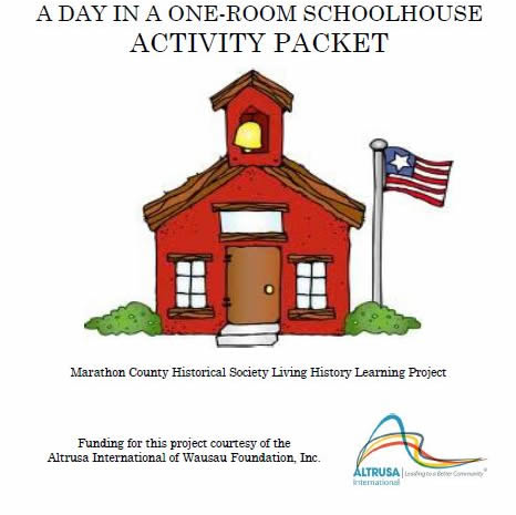 Little Red School House Activity Pack
