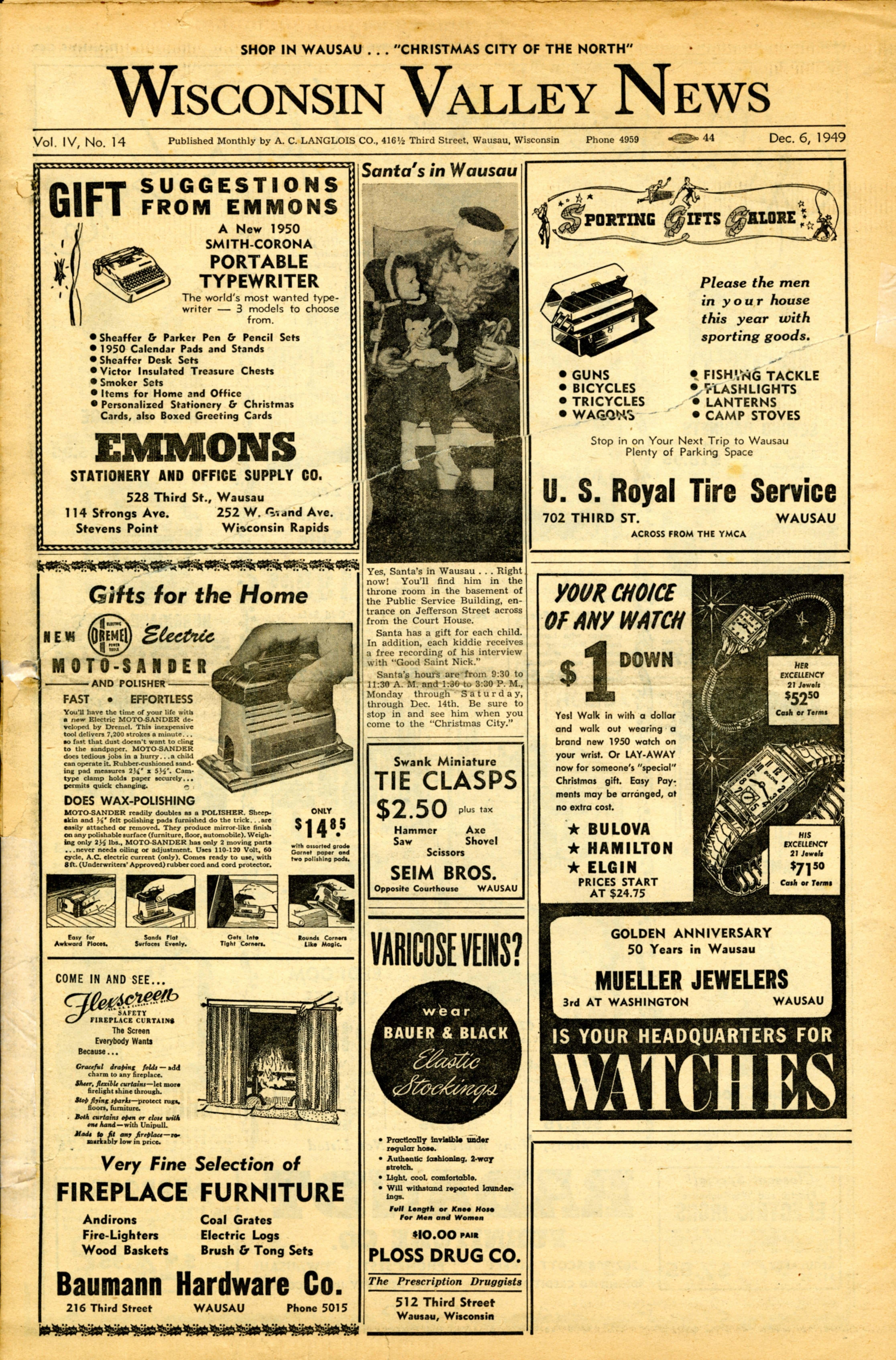 Wisconsin Valley News_December 6, 1949